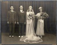 granny and grandpas wedding